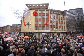 Em 21 de janeiro, a Igreja de Scientology de Hamburgo celebrou a abertura da sua nova sede completamente transformada em Domstrasse 9, em Altstadt, o centro da zona histórica de Hamburgo.